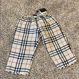Authentic boys Burberry pants